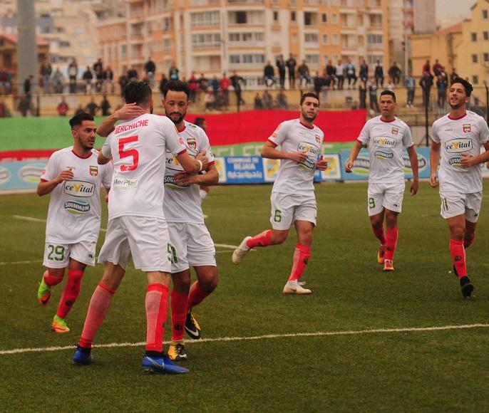 JSMB 5 - 0 Amel Kourifa : Les Vert et Rouge sans forcer - Competition.dz Le site du football algérien