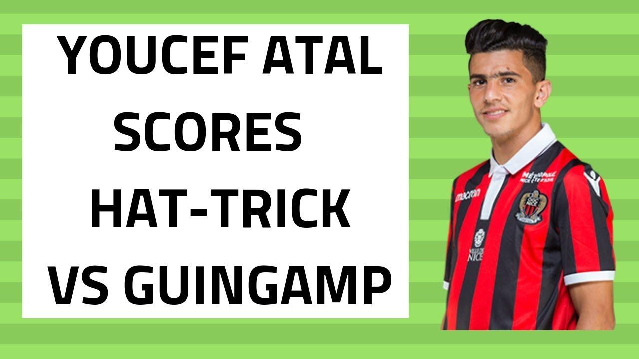 Le triplé de Youcef Atal contre Guingamp