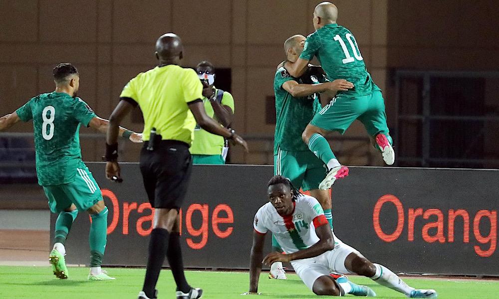 Burkina 1-1 Algérie
