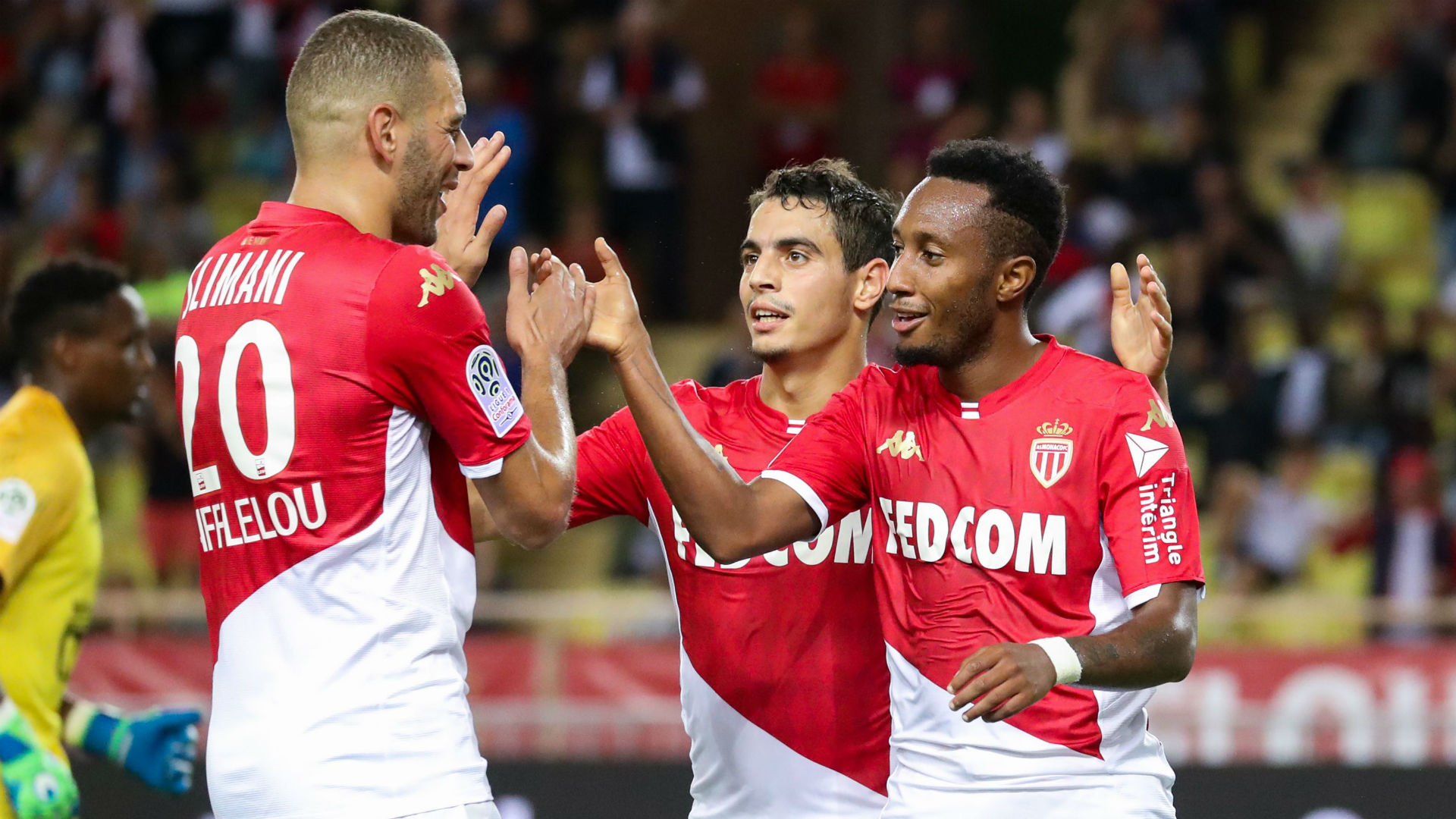 Le but et les 3 passes décisives de Slimani contre Brest