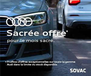 sovac audi 300x250 sacrée offre