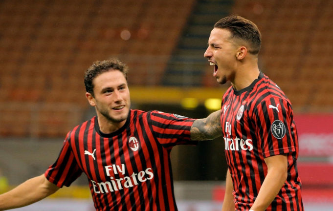 Le premier but de Bennacer cette saison en Serie A